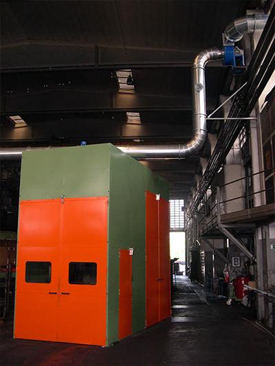 cabine insonorizzanti industriali