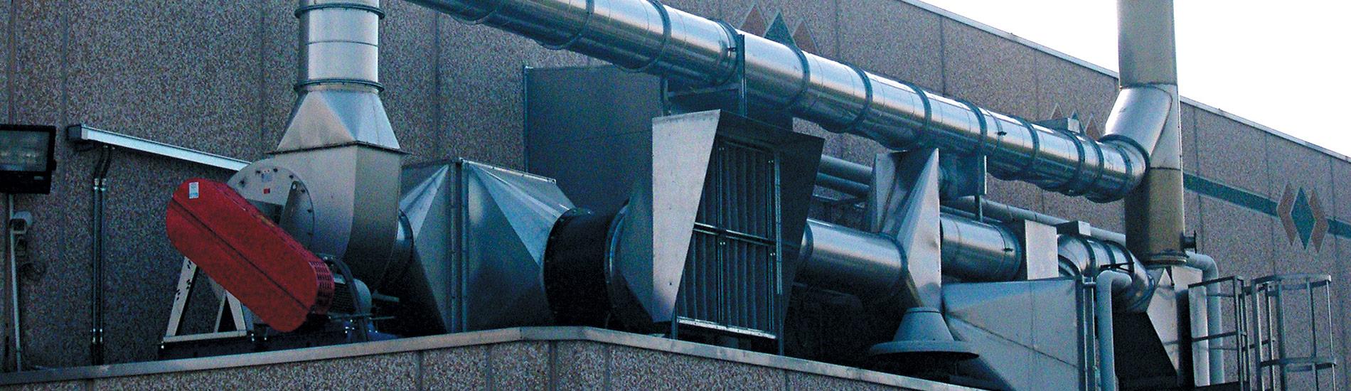 Impianti di filtrazione industriale
